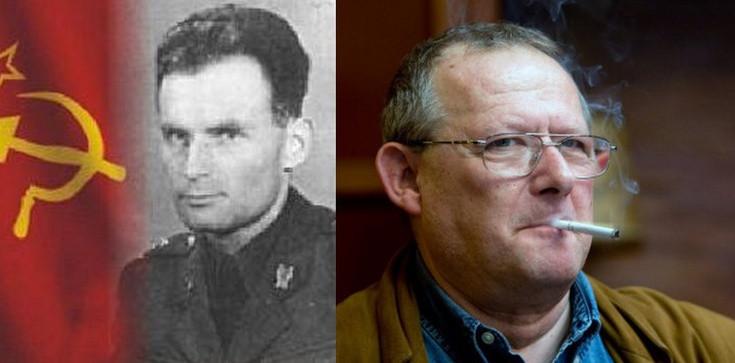 Komunistyczna Partia Zachodniej Ukrainy z Adamem Michnikiem w tle - zdjęcie