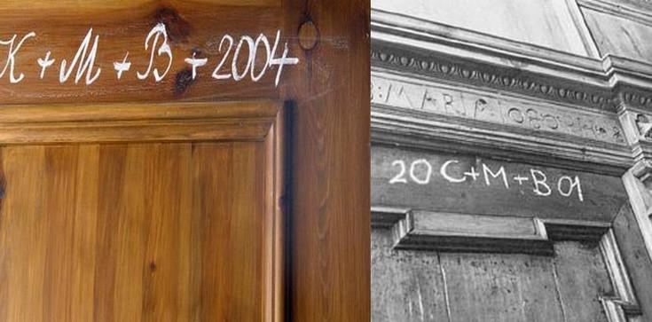 Nie zapomnij oznaczyć kredą drzwi swojego domu!  - zdjęcie