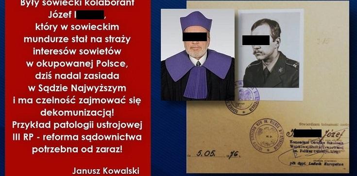 Śledczy IPN chcą uchylenia immunitetu sędziemu Józefowi I. Miał się dopuścić zbrodni komunistycznej - zdjęcie