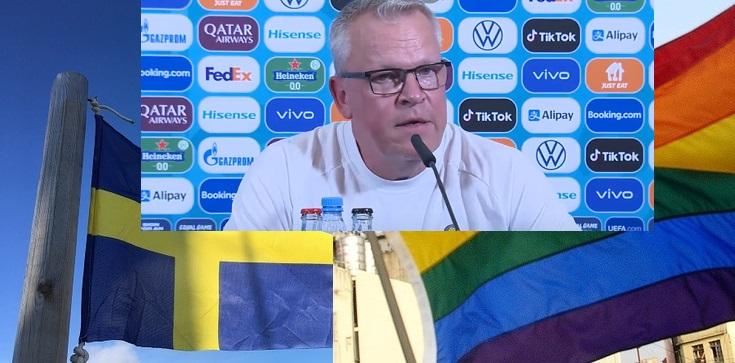 Szwedzcy piłkarze zachowali ,,klasę'', a dziennikarze … pytali o promocję LGBT w meczu z Polską - zdjęcie