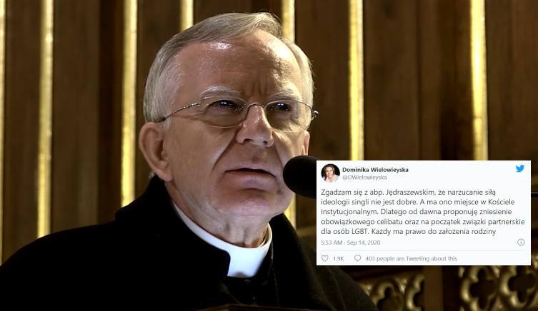 Naczelna teolożka ,,GW'' krytykuje abp. Jędraszewskiego  - miniaturka