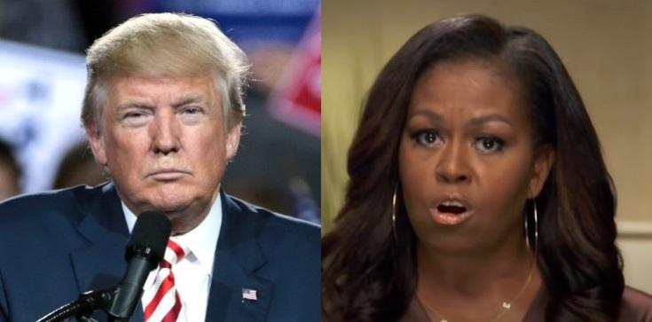 Niewiarygodne! Żona byłego prezydent USA Michelle Obama domagała się całkowitego zablokowania kont Trumpa - zdjęcie