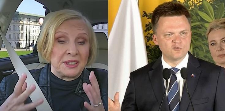 Nurowska wściekła na Hołownię: ,,Okłamał swoich wielbicieli'' - zdjęcie