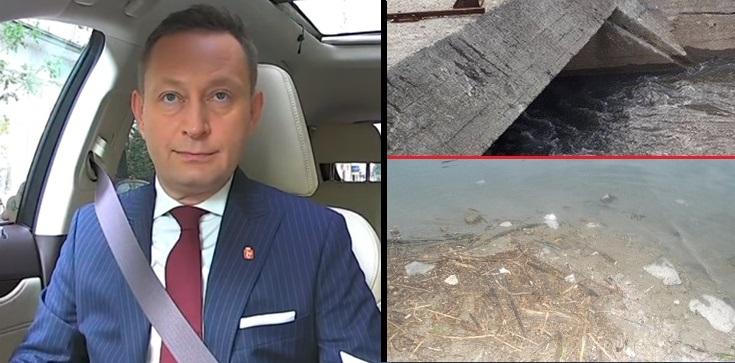 Skandal! Bezczelny wpis Rabieja: Ryby padły ,,od odoru zgnilizny jaki wydaje rząd'' - zdjęcie