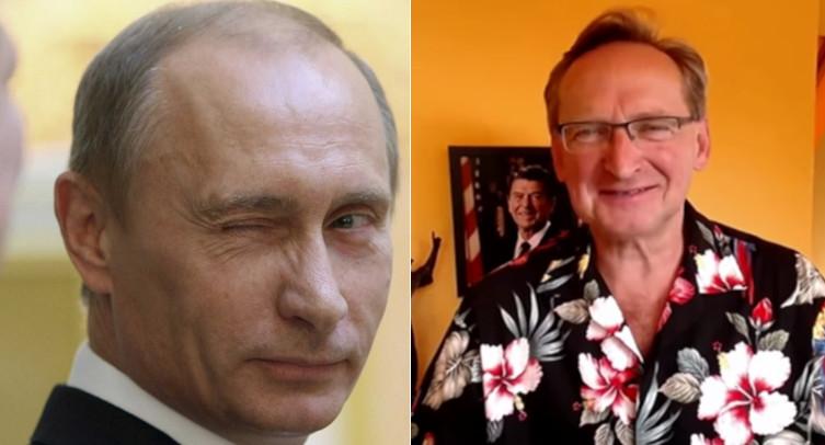 Kolejny medialny ,,zielony ludzik'' propagandy Moskwy ujawnił się… - miniaturka