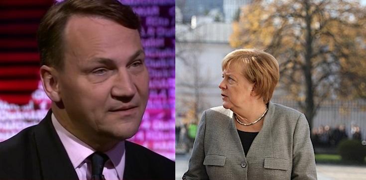 Sikorski o Merkel: Jest propolska na wzór Ottona III - zdjęcie