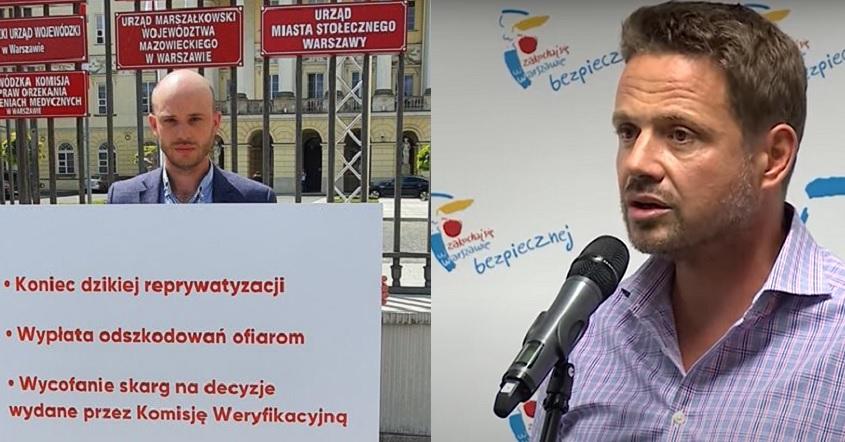 Śpiewak o Trzaskowskim: Reprezentuje interesy układu reprywatyzacyjnego - miniaturka
