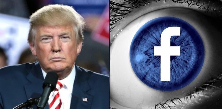 FB jak u Orwella! Blokuje konto Trumpa: ,,Aż dopokojowego przekazania władzy'' - zdjęcie