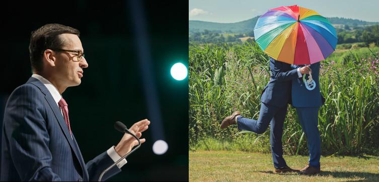 Morawiecki o LGBT: Tolerancja - tak, ale nachalna propaganda - NIE!!! - miniaturka