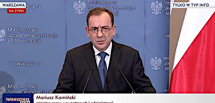 Mariusz Kamiński jasno: Nie ma naszej zgody na przymusową relokację i eksperymenty społeczne! - miniaturka