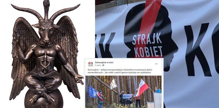 ,,Ruskich genów łyżeczką nie wydłubiesz'' – lokalny portal o aborcjonistach zakłócających uroczystość rozpoczęcia budowy tunelu w Świnoujściu - zdjęcie