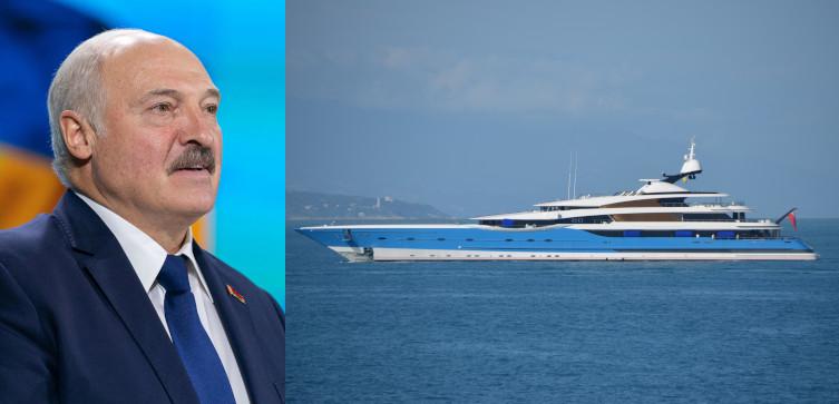 TYLKO U NAS! Co planuje Łukaszenka? Jego samolot znajduje się w Turcji, a nieopodal - jacht rosyjskiego oligarchy - miniaturka