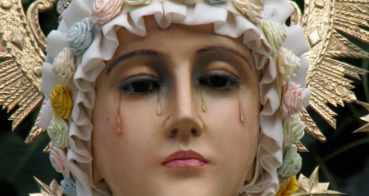 Objawienie Płaczącej Pani. Przestroga Najświętszej Maryi Panny z La Salette - miniaturka