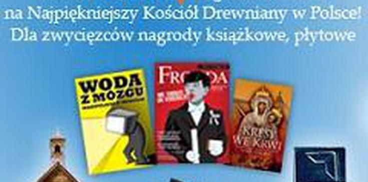 """Rozwiązanie konkursu fotograficznego pt. """"Drewniany kościół w obiektywie"""" - zdjęcie"""